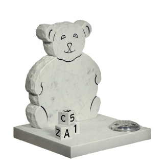 M66 - Teddy memorial with ABC Blocks
