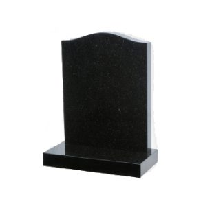 M1 - Ogee headstone shown in Black