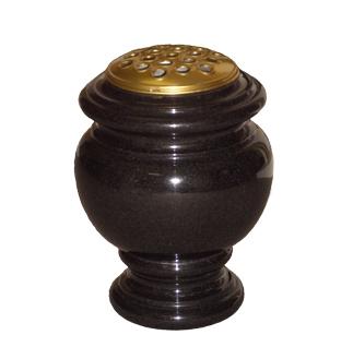 M131 - Carved Round Vase