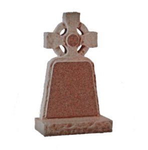 M37 - Rustic Celtic Cross memorial